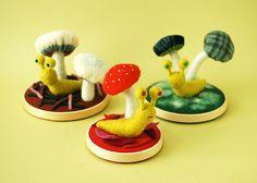 felt mushrooms Hine Mizushima ~