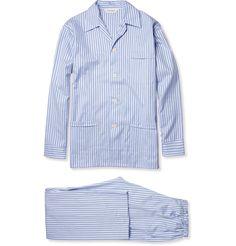 370c9d4e8a DEREK ROSE Striped Cotton Pyjamas Cotton Pyjamas