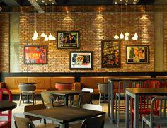 1871 Bar Restaurant by designLSM Leeds UK 1871