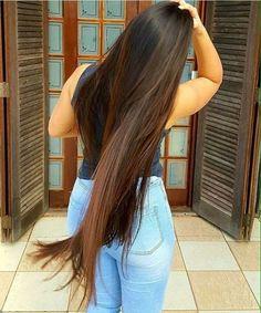 Beautiful Long Hair, Gorgeous Hair, Pretty Hairstyles, Braided Hairstyles, Perfect Hair, Thick Hair Bob Haircut, Shampoo Bomba, Long Brown Hair, Love Your Hair