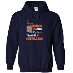 Arizona - Loyal to My Team in Chicago - T-Shirt, Hoodie, Sweatshirt