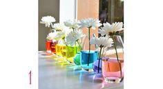 decoração em vasos