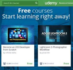 Udemy - Website For Free Online Courses
