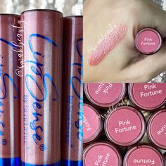 Lipsense Pinks, Independent Distributor, Dark Lips, After Dark, Collages, Iridescent, Color Pop, Blue Green, Tube