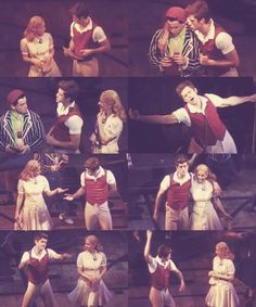 Aaron Tveit 'Fiyero' ......... Dancing Through Life! .....in those damn Fiyero pants!