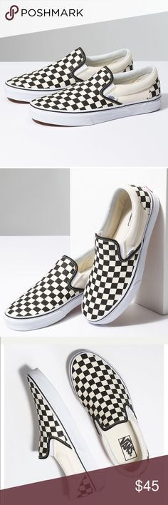 Classic Slip-On Vans. Classic Slip-On Vans. Brand new, in box. Please look at all pictures Vans Shoes
