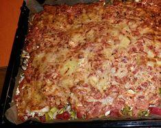 Backofengemüse mit Schafskäse, ein schönes Rezept mit Bild aus der Kategorie Vegetarisch. Tags: Gemüse, Hauptspeise, Kartoffeln, Überbacken, Vegetarisch