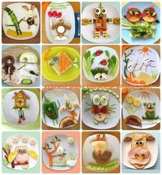 Healthy food for kids / Gesundes Frühstück für Kinder - Ideas - Fingerfood Cute Food, Good Food, Yummy Food, Awesome Food, Amazing Snacks, Yummy Snacks, Yummy Yummy, Toddler Meals, Kids Meals