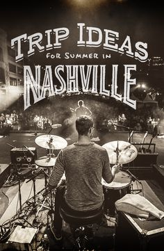 Summer trip ideas for two days of music in Nashville, Tennessee. Use this handy itinerary as your guide. Stops include Fond Object, Mas Tacos, The 5 Spot, White's Mercantile, Musicians Hall of Fame, Station Inn, and more!