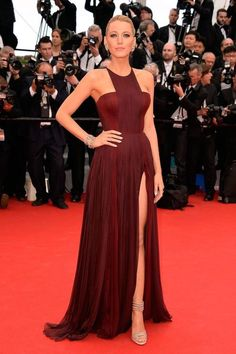 Image result for red carpet dress styles on We Heart It