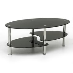Shop for Cara Black Glass Split Shelf Coffee Table at wilko - where we offer a range of home and leisure goods at great prices. Glass Wood Coffee Table, Round Coffee Table, Glass Table, Living Room Sets, Living Spaces, Decorating Coffee Tables, Glass Shelves, Home Furniture, Shelf