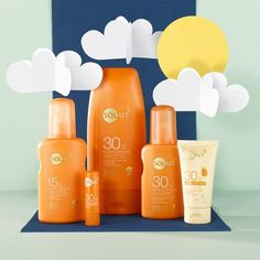 Planning to escape the grey skies? Stock up on sun cream before you fly! ☁️ Don't forget, UV rays are still there when the sun isn't shining, protect yourself by wearing SPF everyday. Solait suncare is available on superdrug.com and in stores NOW! #suncare #sunsafe #solait