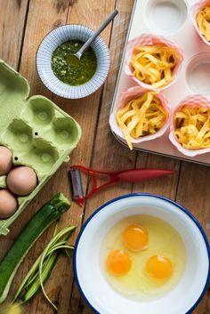 Warzywno-makaronowe babeczki piknikowe - Kuchnia Agaty - najsmaczniejszy blog kulinarny!