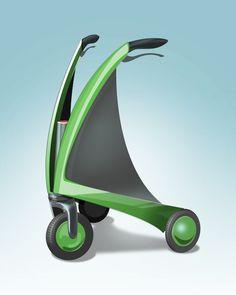 wenn ICH mal einen brauche ... dann nur so einen COOLEN .... haha  Futuristic Rollator