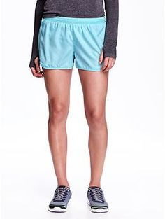 Run Perforated Shorts for Women   Old Navy