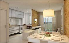 Consultoria de Decoração: Cozinha e Sala de Jantar Integradas!