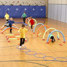 WeeKidz® Challenge Course is part of Kids obstacle course - Help develop gross motor skills, balance and coordination in young children with the WeeKidz® Challenge Course
