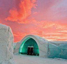 ice hotel - jukkasjärvi, schweden