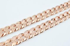 Rose Gold Filled Chain Inch Link Size Clasp Size about Gold Filled Chain, 18k Rose Gold, Bracelets, Jewelry, Bangle Bracelets, Jewellery Making, Jewerly, Jewelery, Jewels