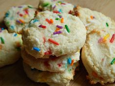 Funfetti cake cookies by drizzle me skinny