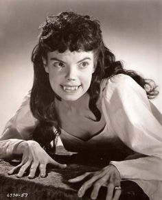 """Andrée Melly - in """"The Brides of Dracula""""  (1960)"""