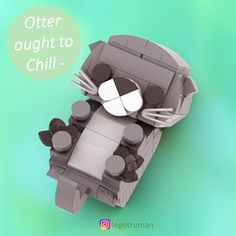 Tag someone who loves Lego & cute animals 💕 Lego animal friends- Chilling Otter✨ Hope you all have a chill day . More cute animals are… Lego Design, Zoo Lego, Legos, Micro Lego, Amazing Lego Creations, Lego Pictures, Lego Activities, Otter, Lego Craft