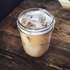 grafika coffee, drink, and ice