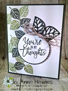 Thoughtful Branches #stampinup
