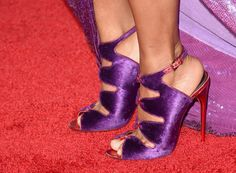 Christina Milian Photos - Singer Christina Milian, shoe detail, attends the People's Choice Awards 2016 at Microsoft Theater on January 6, 2016 in Los Angeles, California. - People's Choice Awards 2016 - Arrivals