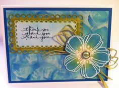 Alcohol Ink Card