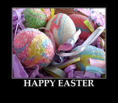 HAPPY EASTER Beautiful Eggs picture