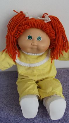 Cabbage patch kids doll 1985 coleco by maria303042 via flickr