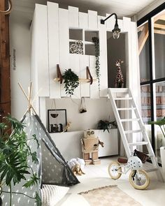 I'm a sucker for this fabulous neutral playroom Baby Bedroom, Baby Room Decor, Kids Bedroom, Girl Bedrooms, Girl Bedroom Designs, Kids Room Design, Dream Rooms, Kid Spaces, Home Interior
