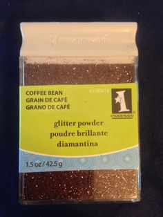 Inkadinkado Glitter     Coffee Bean      by CynthiasCraftingNook, $3.50
