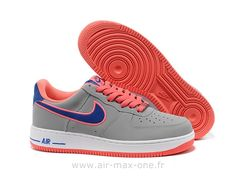 finest selection 6ef5b 23cfd nike air force 1 homme nike air force 1 low gris et rose homme