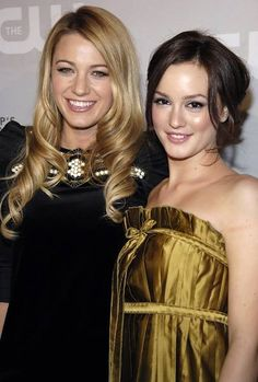 Blake Lively With Leighton Meester