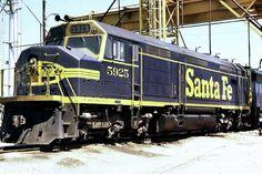 EMD F45 Diesel Locomotive, Santa Fe Railroad