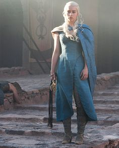 If we ever dress as Drogo and Dany, this is the outfit I would want to wear.