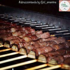 Stasera si cena con i gustosissimi #arrosticini d'#Abruzzo #italiaintavola #abruzzointavola