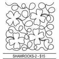 Shamrocks Edge to Edge by Designs by Deb