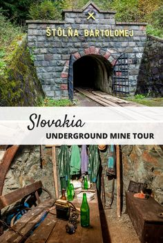 The Slovak Mining Museum in Banska Stiavnica, Slovakia, commemorates the country's mining history. A tour here includes a walk through the underground mine.