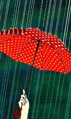 ` Umbrella Art, Under My Umbrella, Its Raining Its Pouring, I Love Rain, Cherbourg, Rain Days, Rain Photography, Walk On Water, Umbrellas Parasols