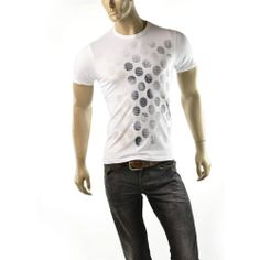 Armani Exchange T Shirt Mens A/X Dot Camo Logo Tee Size S Slim Fit Shirts NEW #ArmaniExchange #GraphicTee