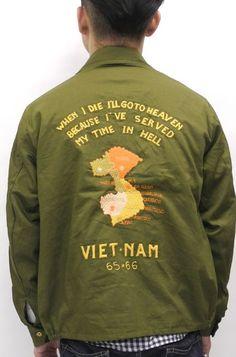 VIETNAM SOUVENIR-TOUR JACKET.