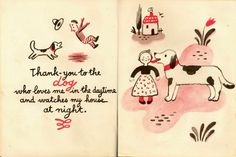 Francoise. The Thank-You Book.