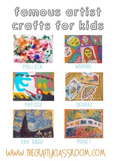 Great summer or anytime art/craft combo projects for kids (and adults)!