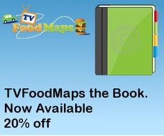 Map of TV Food Restaurants - As Seen On.  Love it!