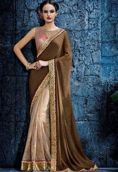 Beige Net Designer Saree..@ fashionsbyindia.com #designs #indian #fashion #womens #style #cloths #clothes #stylish #casual #fashionsbyindia #punjabi #suits #wedding #saree #chic #elegance #beauty #outfits #fantasy #embroidered #dress #PakistaniFashion #Fashion #Longsuit #FloralEmbroidery #Fashionista #Fashion2015 #IndianWear #WeddingWear #Bridesmaid #BridalWear #PartyWear #Occasion #OnlineShopping