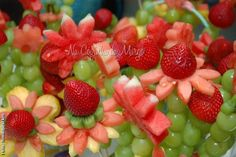 Na Cozinha da Margô: Decoração com Espetinhos de Frutas