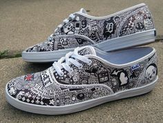 Union Jack | Community Post: 16 Pairs Of Creatively Sharpied Shoes From Pinterest